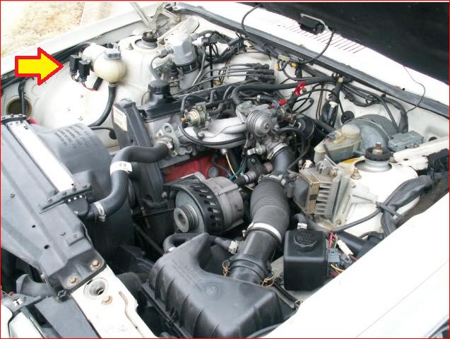 Capture on 1988 Volvo 740 Fuel Pump Relay