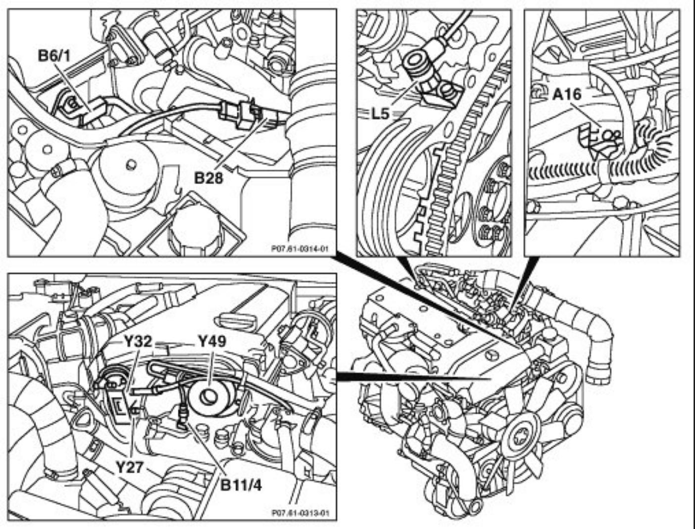 2003 Mercedes C230 Engine Diagram Wiring For Light Switch 2007 Sport Fuse Box On Replaced Mafs Passed All Test But The Rh Justanswer Com 1999 Ml430 Of 2001 E320