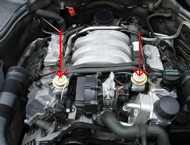 1998 Ml320 3 2 P0410 Secondary Injection System