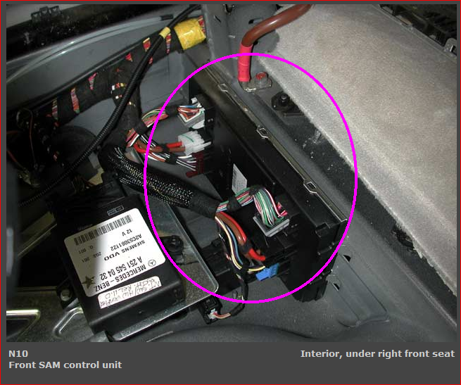 Need to know how the auxiliary battery gets charged and for Mercedes benz gl450 battery location