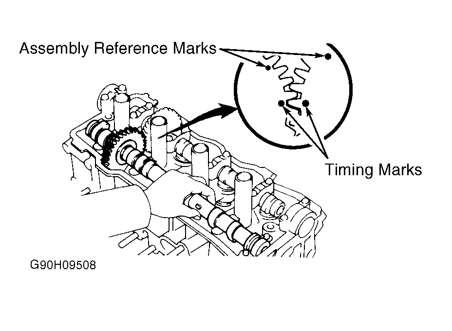 1994 Toyota Camry Timing Diagram
