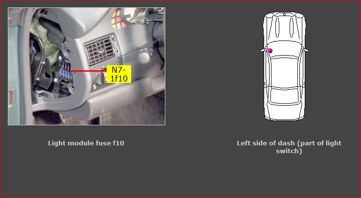 my left tailights are not working and turn signals are not working mercedes-benz slk 230 mercedes slk 230 fuse box #14
