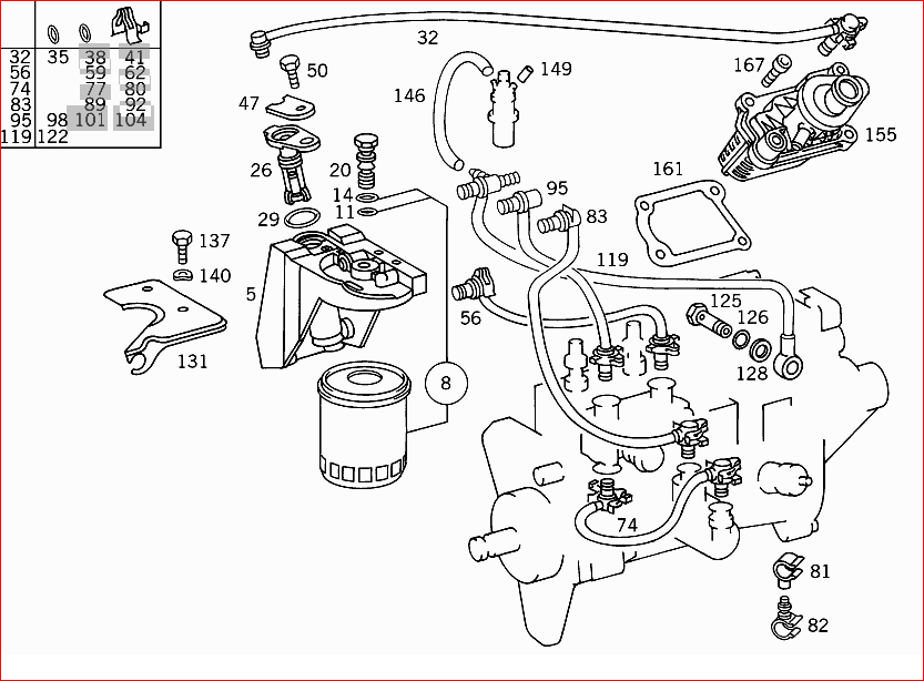 For my Mercedes E300, 1998. Where is the
