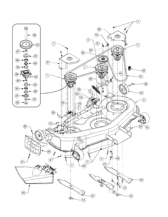17ba5a7p710 Wire Harness in addition Cub Cadet Mower Deck Parts Diagram together with Cub Cadet Z Force 44 Wiring Diagram likewise Wiring Diagram For Cub Cadet Z Force as well Cub Cadet Mower Deck Parts Diagram. on cub cadet wiring diagram rzt 50