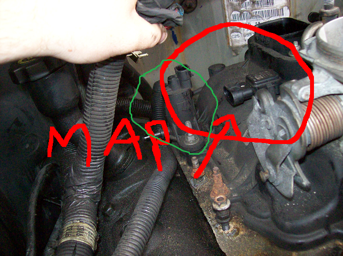 Where Is The Map Sensor Located On A 2001 Gmc Safarirhjustanswer: 1997 Chevy Blazer Map Sensor Location At Gmaili.net