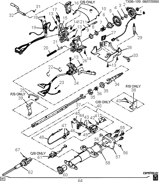 91 S10 Steering Wheel Wiring Diagram ford f150 steering ...  F Wiring Diagram Free Picture on taurus wiring diagram, k5 blazer wiring diagram, fusion wiring diagram, crown victoria wiring diagram, windstar wiring diagram, civic wiring diagram, bronco wiring diagram, mustang wiring diagram, model a wiring diagram, f250 super duty wiring diagram, f150 wiring diagram,