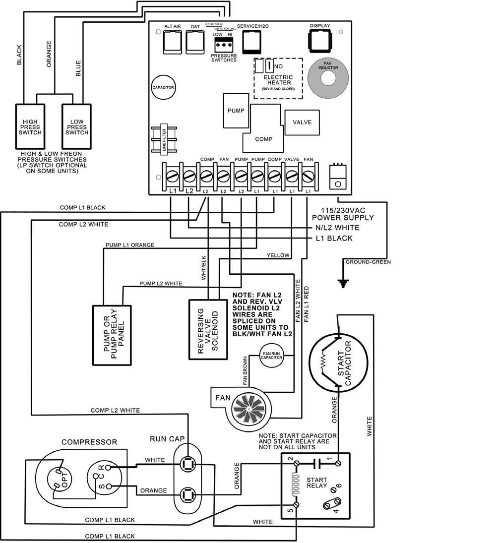 Air on Dometic Duo Therm Thermostat Wiring Diagram