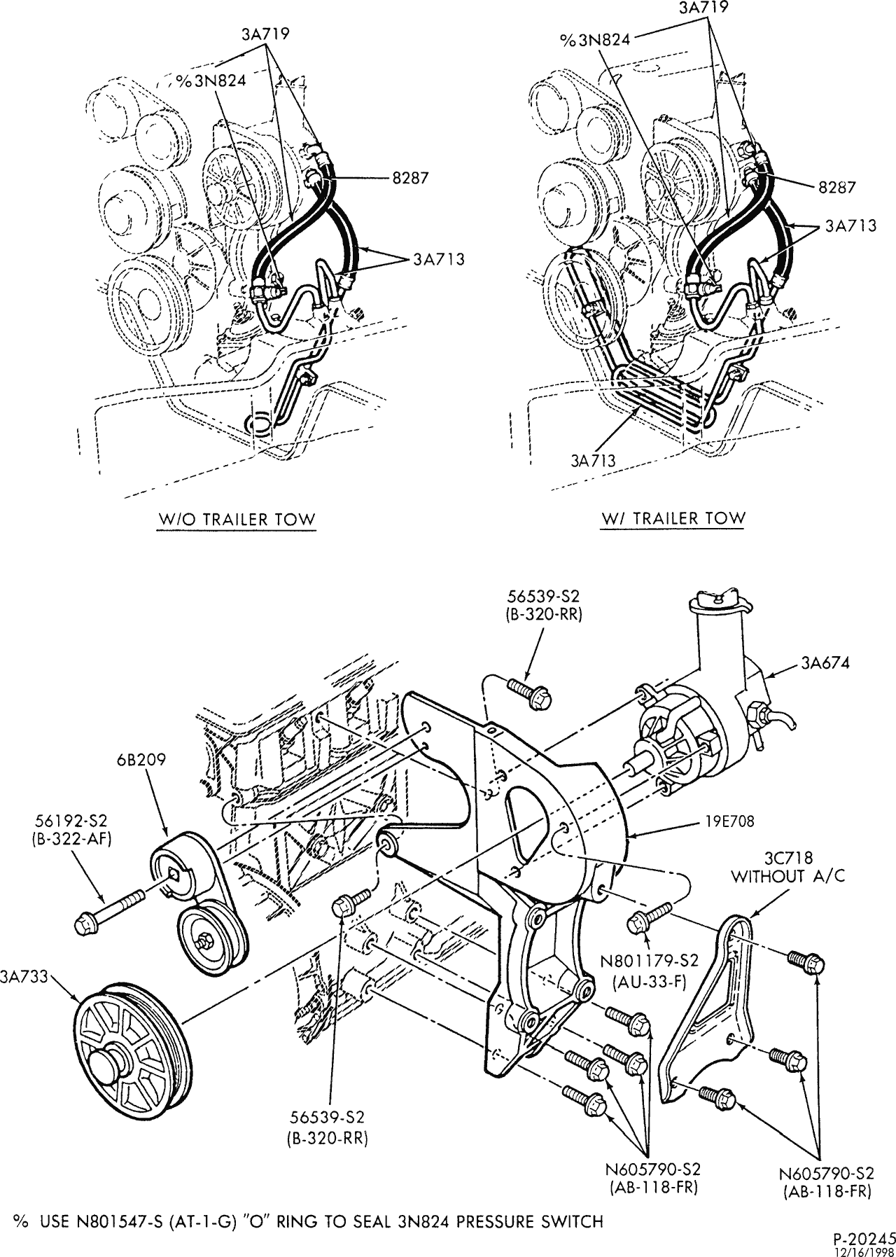 Eclipse Tightenedpower Steering Pumpwhich Is Rubberdiagram