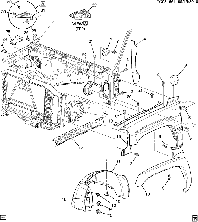 2007 Chevy Silverado Parts Diagram