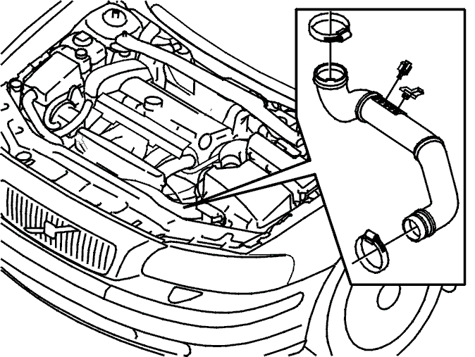 how do i replace the starter motor on the 2002 volvo v70xc