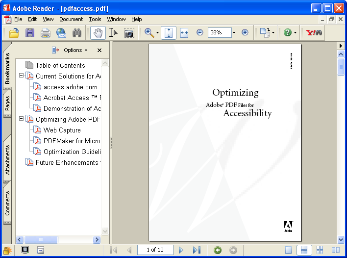 how to set computer to open pdf files with reader