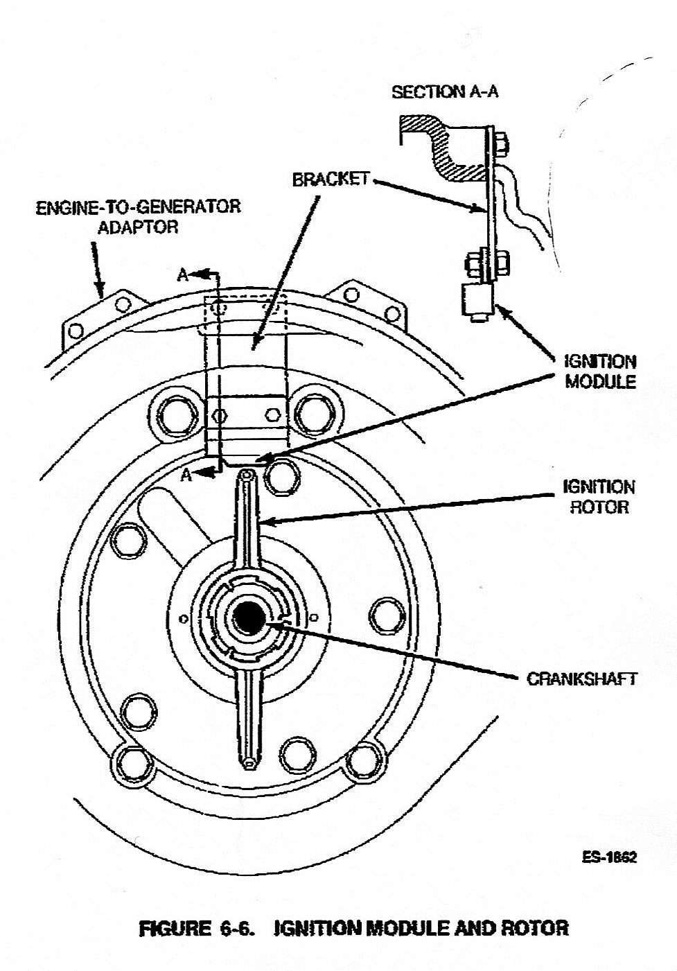 My 1997 ONAN model 5BGMFA26105G (s/n L963624456) will crank ... Onan Transfer Switch Wiring Diagram To on