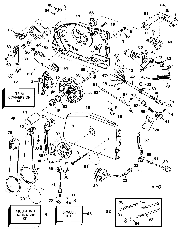 Johnson Outboard Controls Diagram
