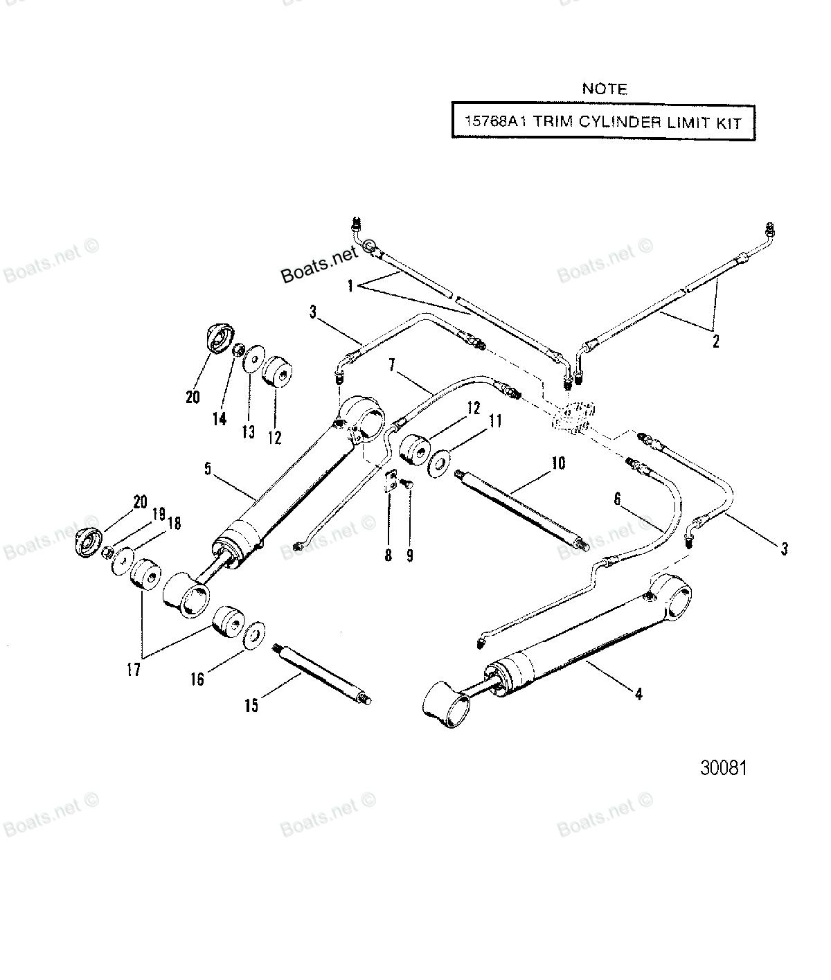 Alpha 1 Mercruiser Tilt Trim Diagram - Illustration Of Wiring Diagram •