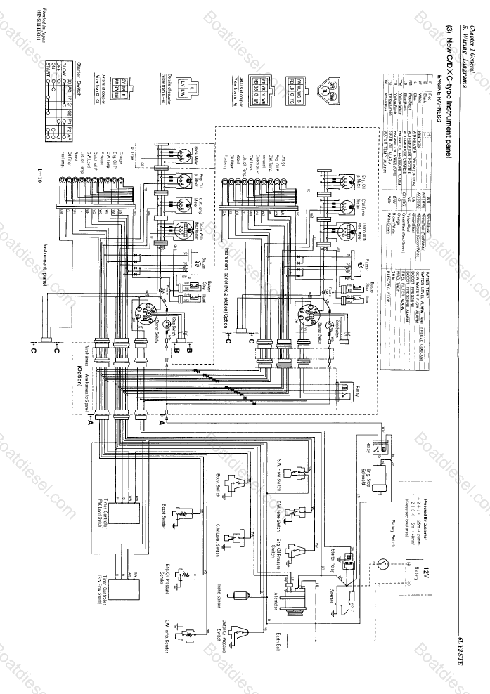 i need some help to find the electric wiring diagram for ... ligths yanmar 1500 wiring diagram