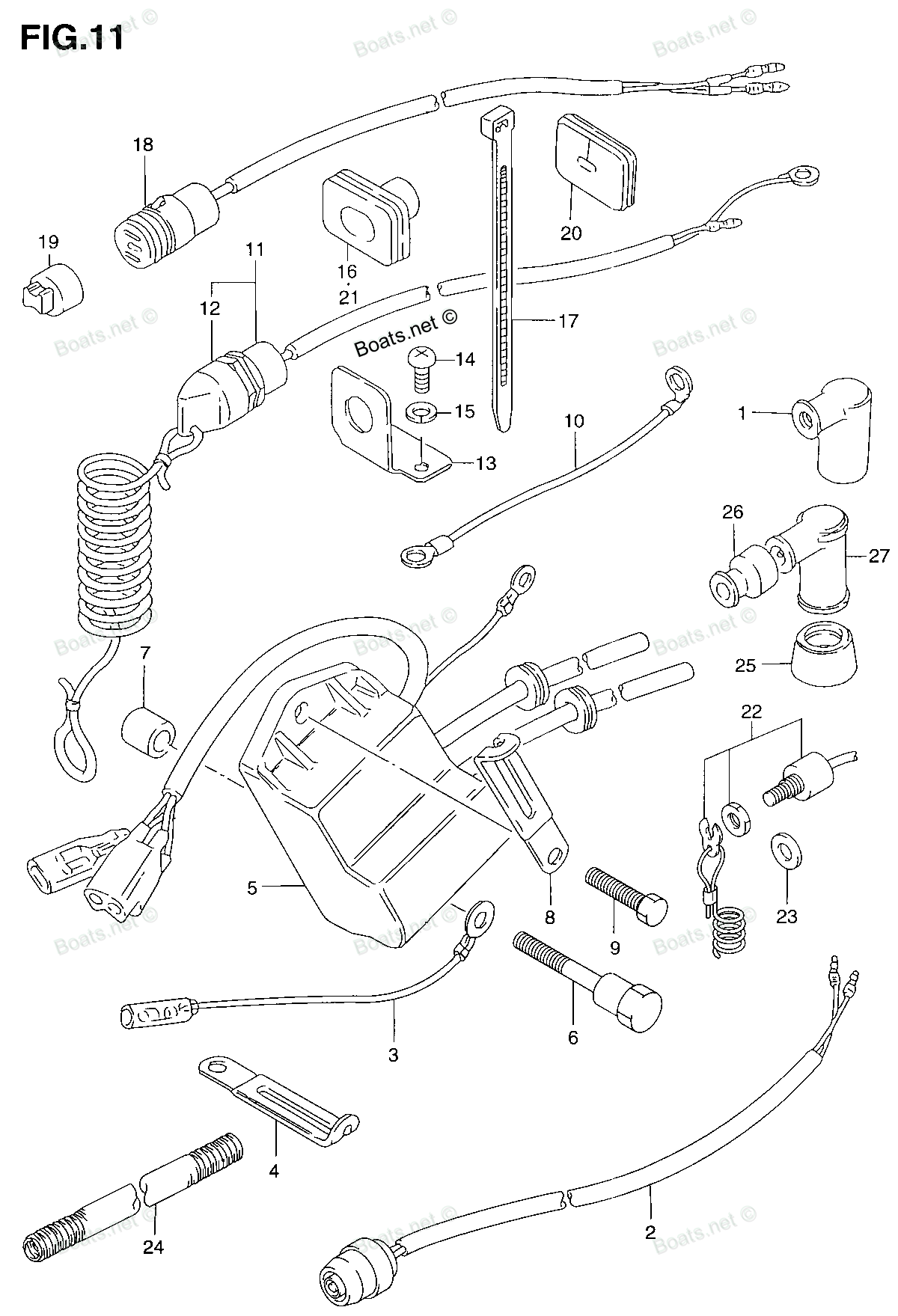 Suzuki Dt 30 Wiring Diagram Reinvent Your Half Switched Schematic 6 A 6hp Two Stroke The Kill Switch Broke In Can Rh Justanswer Com Motorcycle Diagrams Truck