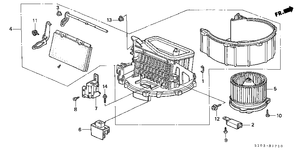 01 honda crv with heater air flow problem the air flows good on ac but not on heater it flows. Black Bedroom Furniture Sets. Home Design Ideas