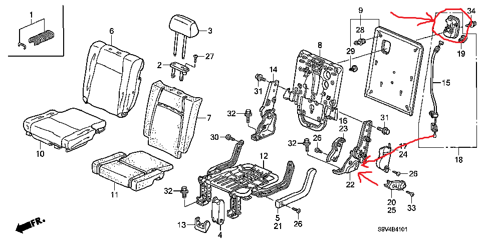 1ih9d Remove Door Panel Driver Side Replace Door Lock likewise Removing and installing lock cylinder housing furthermore Handbrake cable replacement conventional handbrake moreover P 0900c152800766f0 in addition 112. on rear seat removal