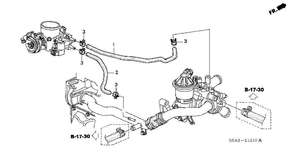 27 Honda Civic Heater Hose Diagram