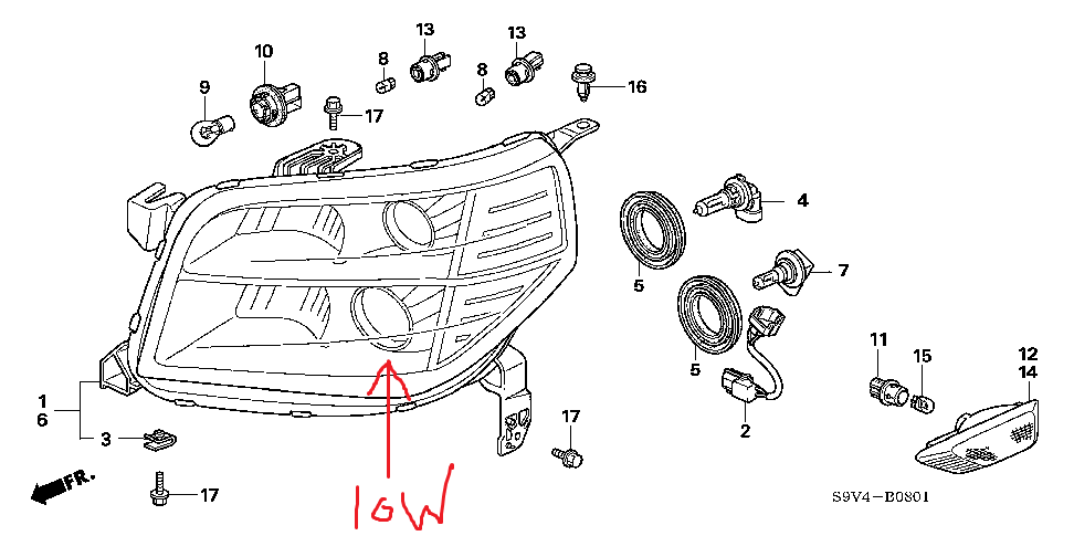 i am trying to figure out which of my bulbs need replacing on my rh justanswer com honda pilot headlight wiring diagram honda pilot headlight wiring diagram