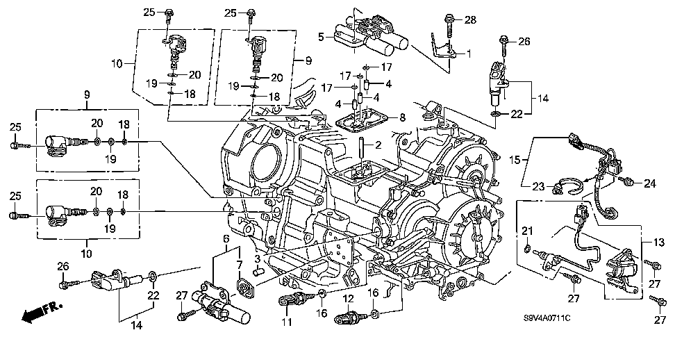 2006 honda odyssey engine diagram 2006 buick terraza