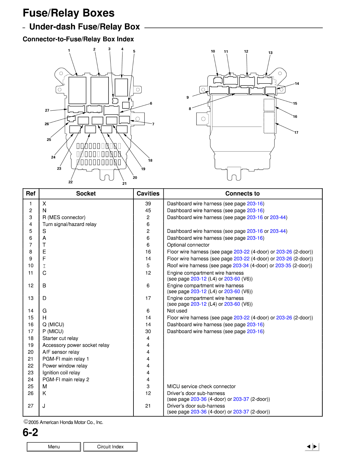 2006 honda fuse diagram wiring diagram data rh 19 6 2 reisen fuer meister de