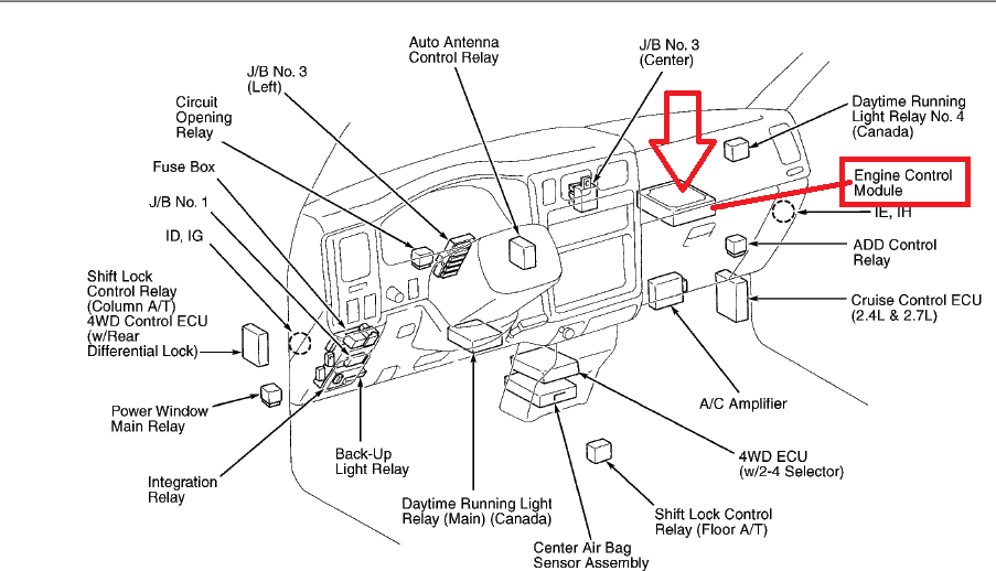 RepairGuideContent together with Note Airflow Meter May Also Be Referred To As Mass Airflow Maf Meter also Toyota Ta a 2 4 2002 Specs And Images together with 2002 besides 131367 Po455 Code. on 2000 toyota celica