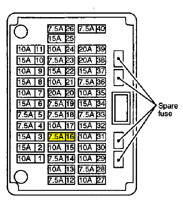 1996 Infiniti I30 Fuse Box - Wiring Diagrams on