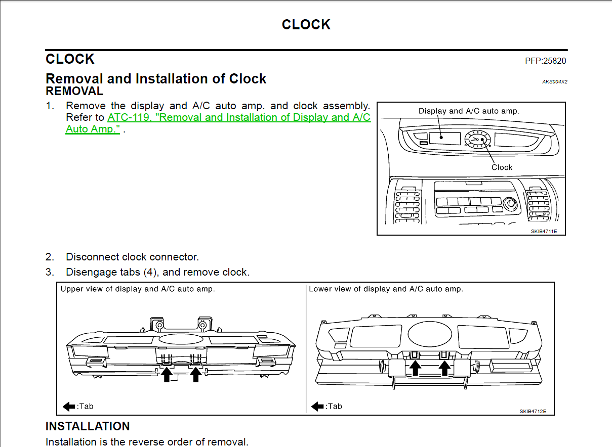 G35 Clock Fuse Trusted Wiring Diagrams 06 350z Box I Have A 2006 Coupe Yesterday My Stopped Working Rh Justanswer Com 2005 Location