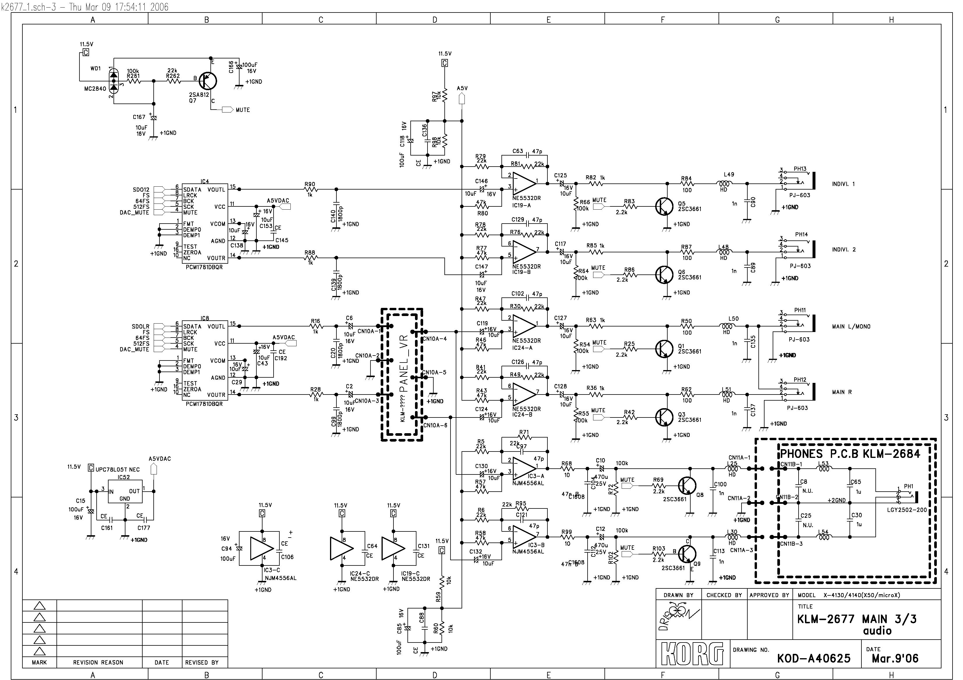 Korg Wiring Diagram - Example Electrical Wiring Diagram •