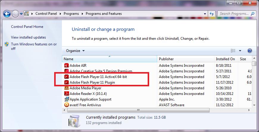 Free download adobe flash player 11 activex offline installer