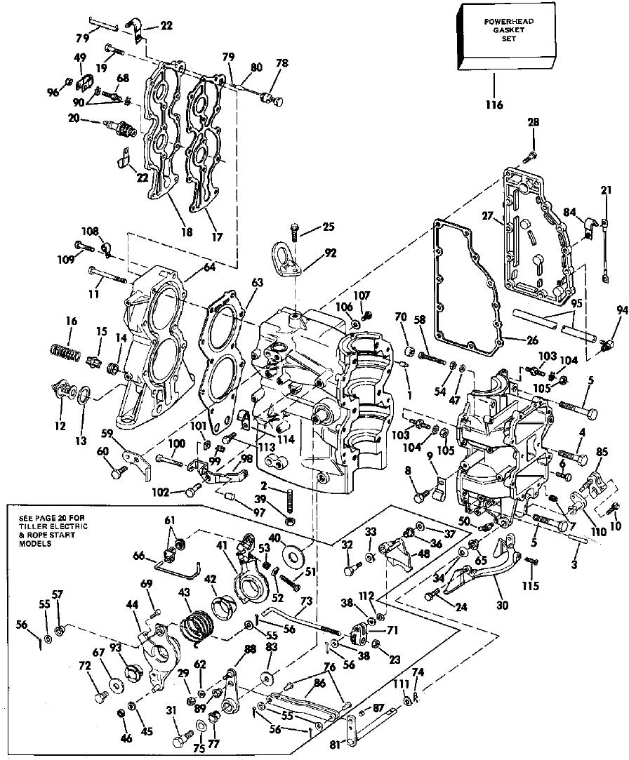 How Do I Install The Shift Linkage Arm On A 1988 Evinrude 40