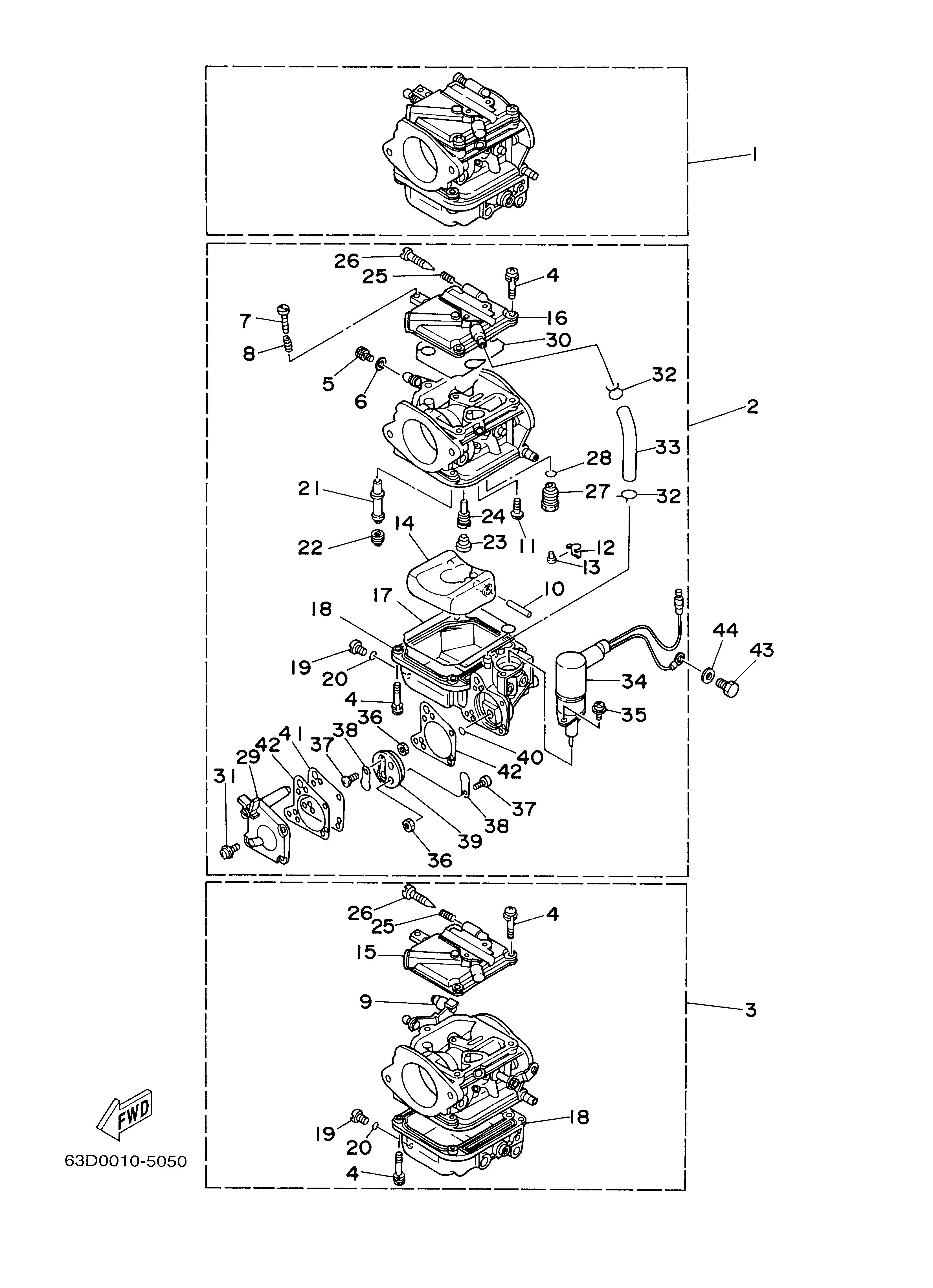 Yamaha 2 Stroke Diagram - Wiring Diagrams