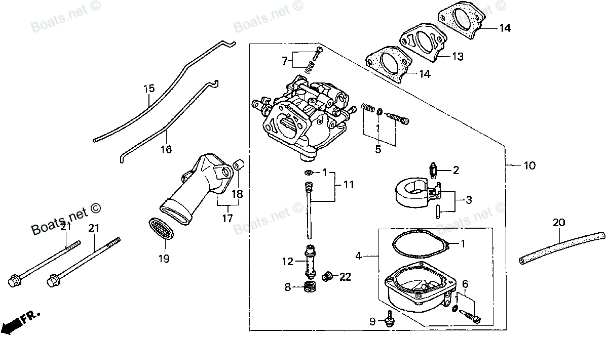 I Have Put My 97 Honda 99hp 4 Stroke Back Together But Seem To Briggs And Stratton Carburetor Diagram Http Wwwjustanswercom Small Graphic