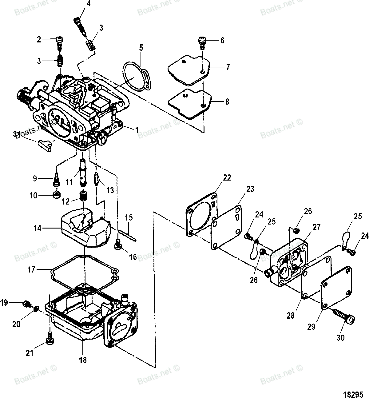 johnson carb rebuild instructions