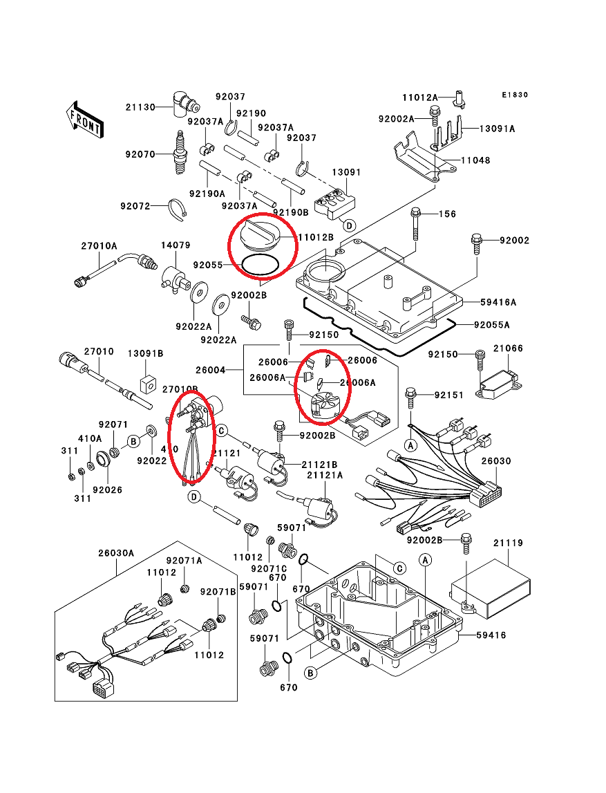 kawasaki jet ski engine diagram image 7