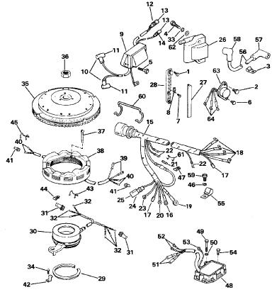 88 Evinrude spl Repair Manual