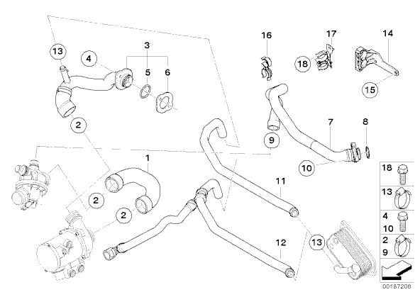 2008 535i engine diagram
