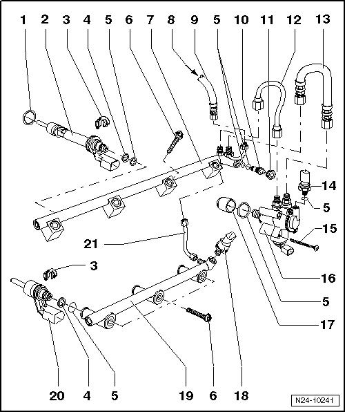 Audi Q7 Fuel Diagram