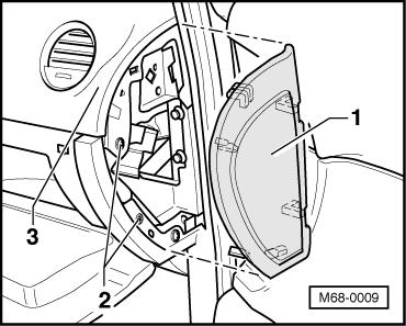 How to repair a glove box door latch? 2003 VW new beetle