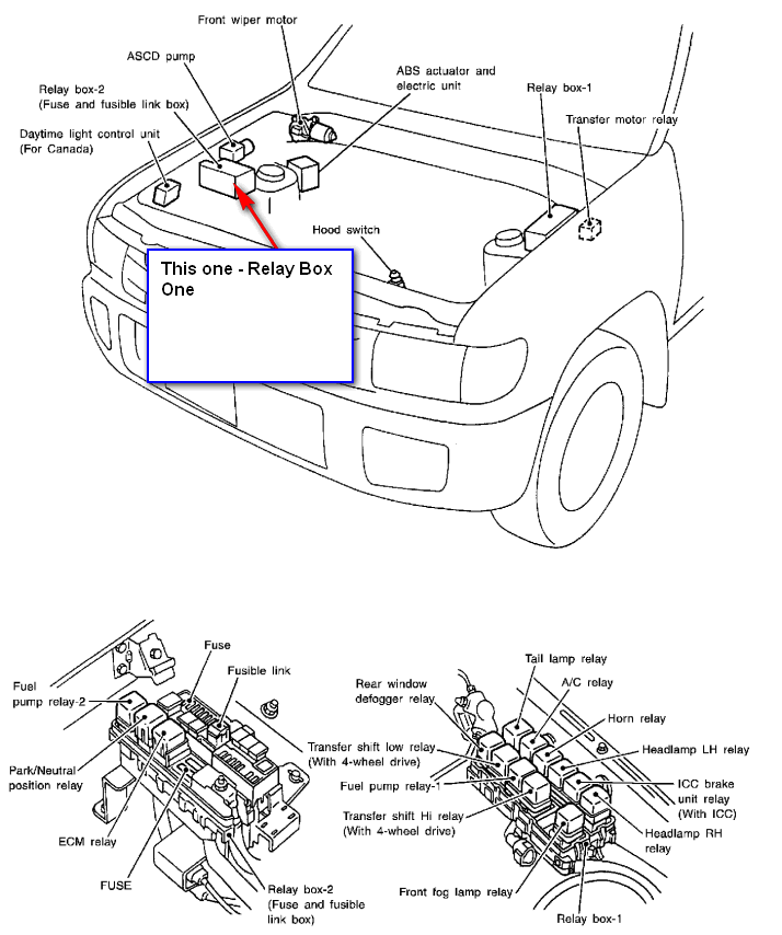 where u0026 39 s the windshield washer fuse on 2001 qx4 infinity
