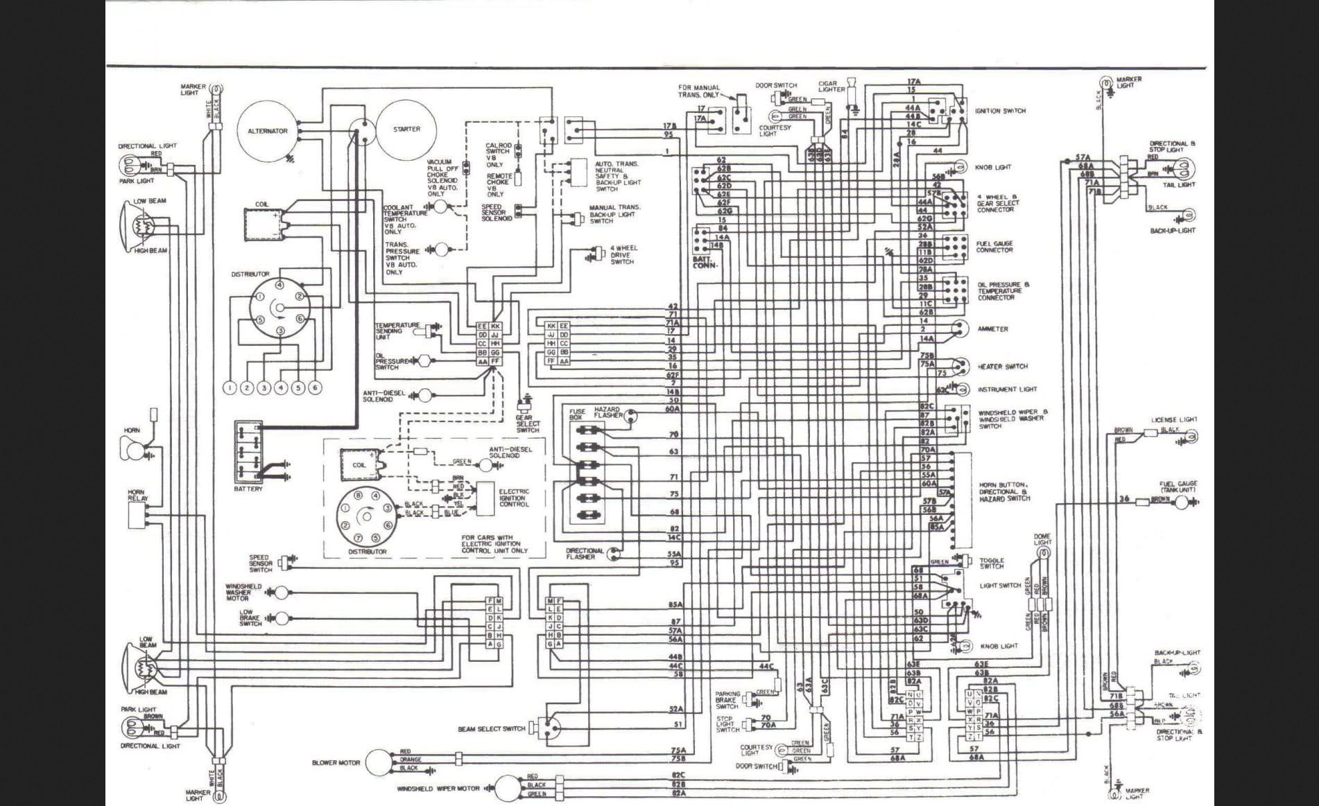 79 international scout wiring diagram i've got a 79 scout ii with a 345 and it died on me the ... 1970 international scout wiring diagram