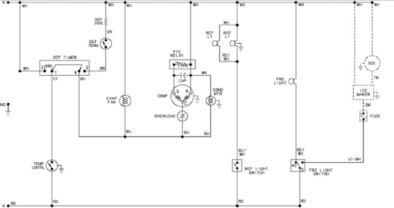 Amana Model Arb2257cw  Need Legible Pdf Of Wiring Diagram