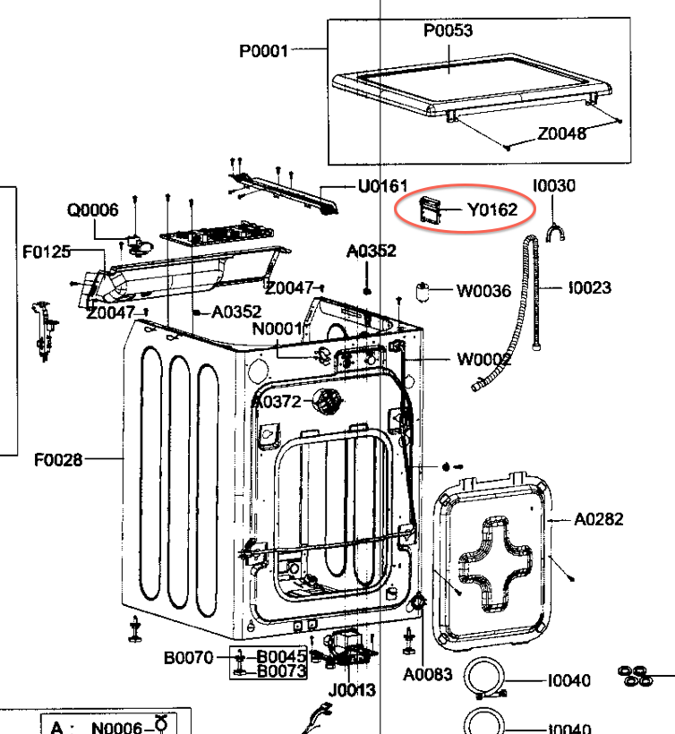 ge profile dryer diagram