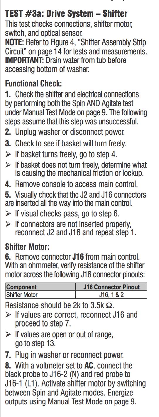 Whirlpool cabrio washer mod #wtw5600 xw2  cust states that