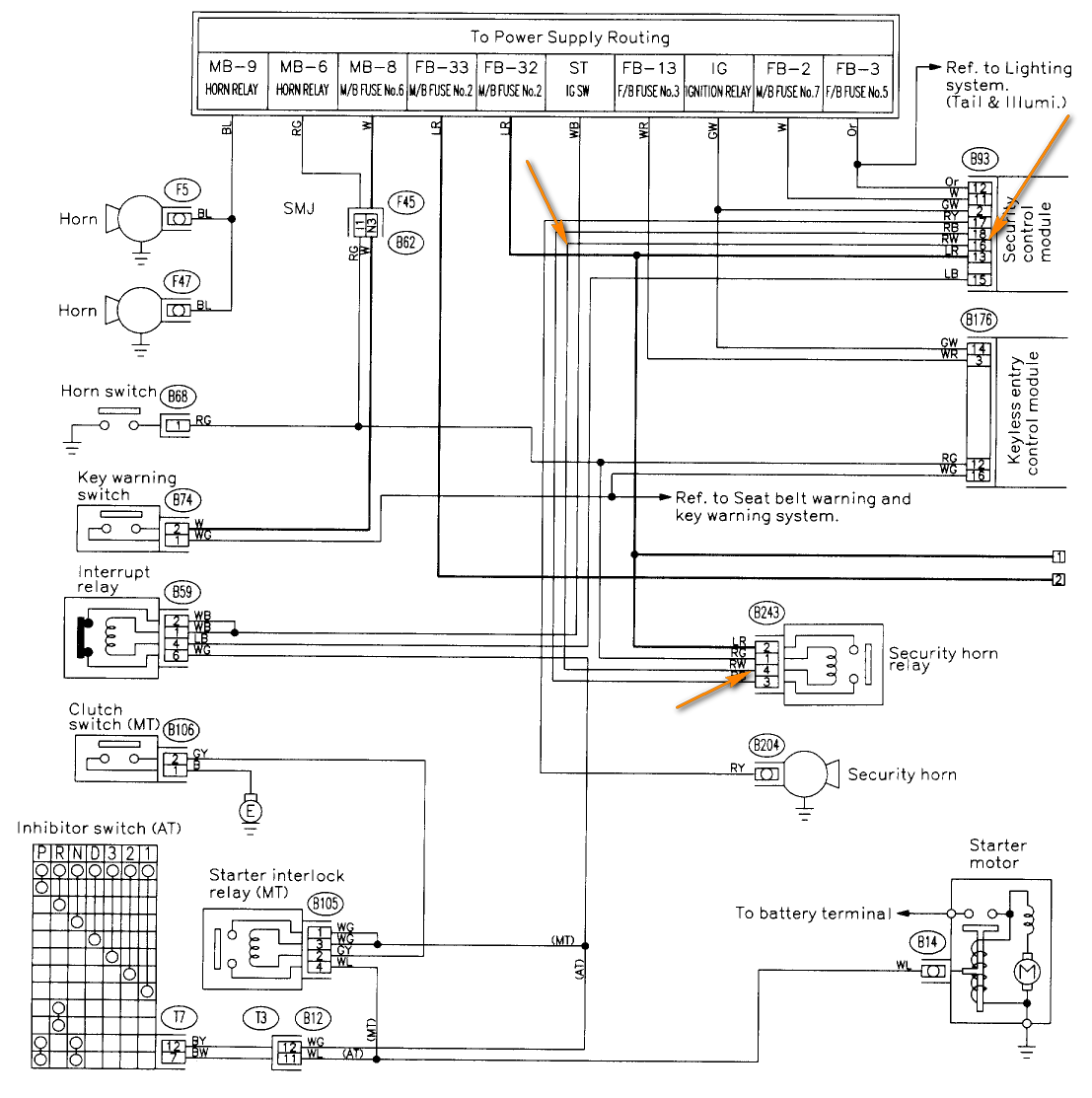 Subaru Alarm Wiring Diagram Library Viper Security Diagrams For Scorpion Car And Home System