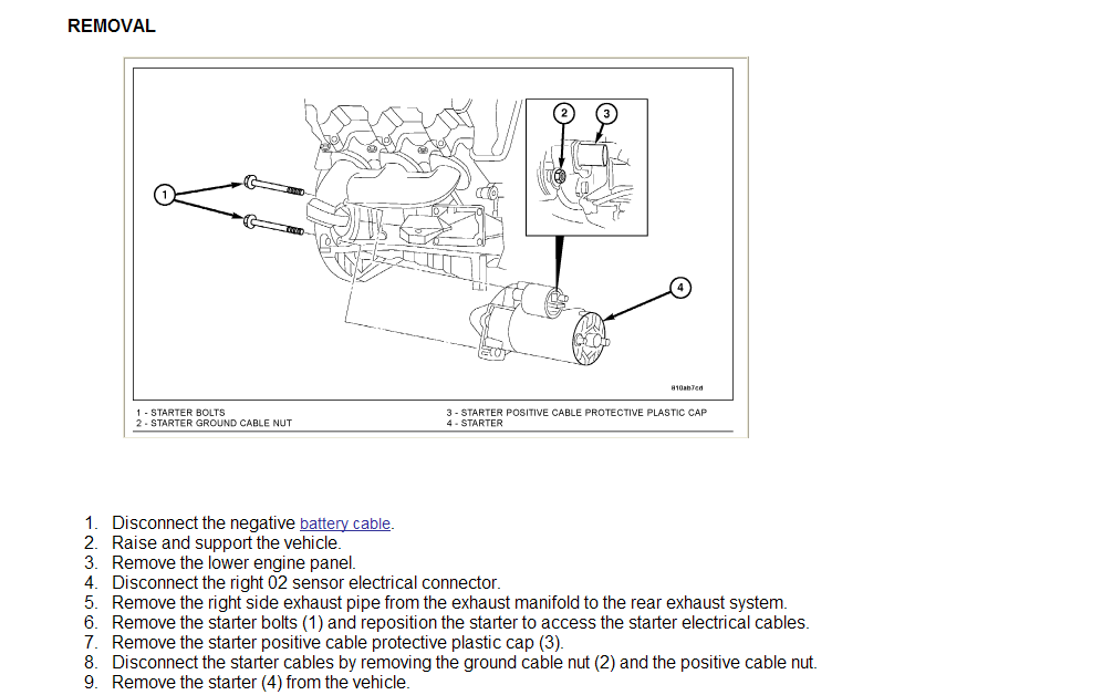 Trying To Replace Starter In 2004 Dodge Dakota  Both The