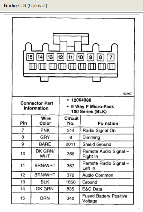 2013 04 21_192127_rad2 tahoe stereo wiring diagram 97 ford radio wiring diagram \u2022 free 2001 chevy tahoe radio wiring harness at mifinder.co