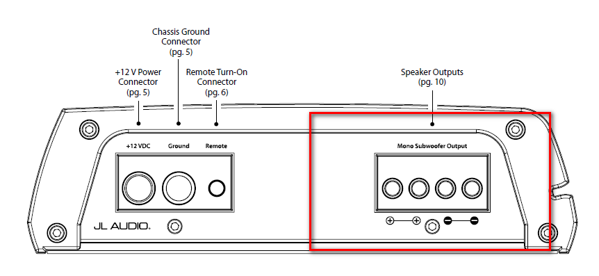 Jl Audio 250 1 Wiring Diagram - Wiring Diagrams DataUssel