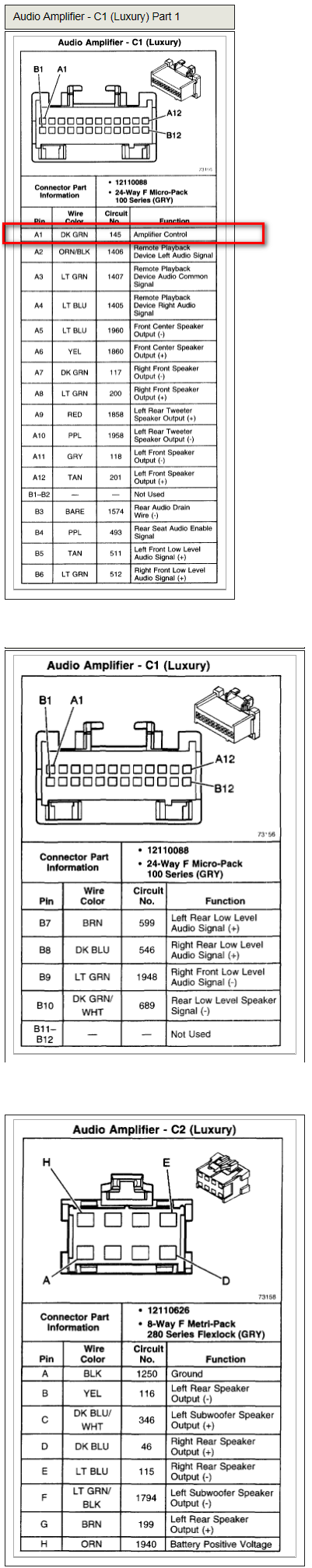 Pioneer D2 Subwoofer Wiring Diagram Diy Enthusiasts Diagrams Home Hooking Up A Avic Trying To Get The Factory Amp Kick Rh Justanswer Com 1 Ohm